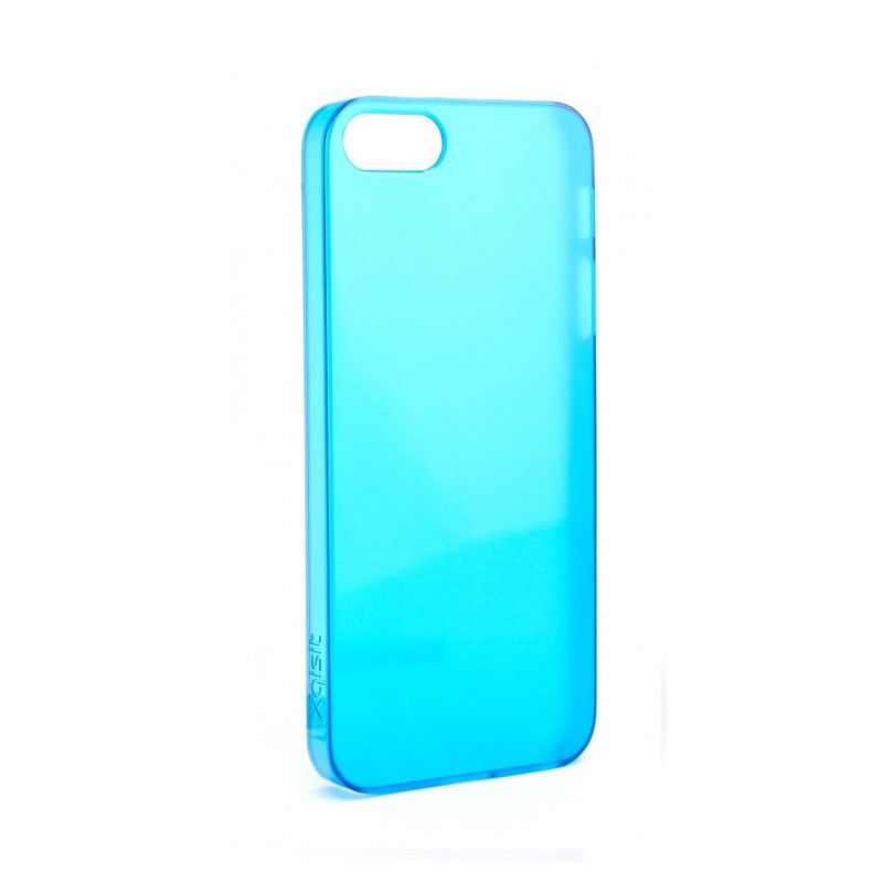 Xqisit - iPlate Ultra Thin iPhone 5 Blue 01