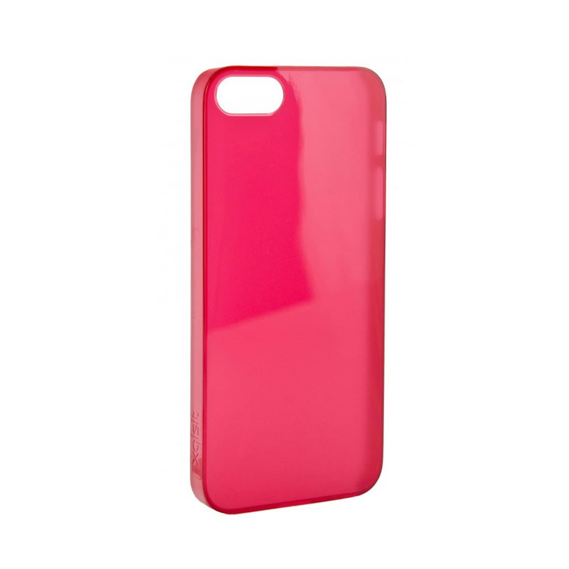 Xqisit - iPlate Ultra Thin iPhone 5 Red 02