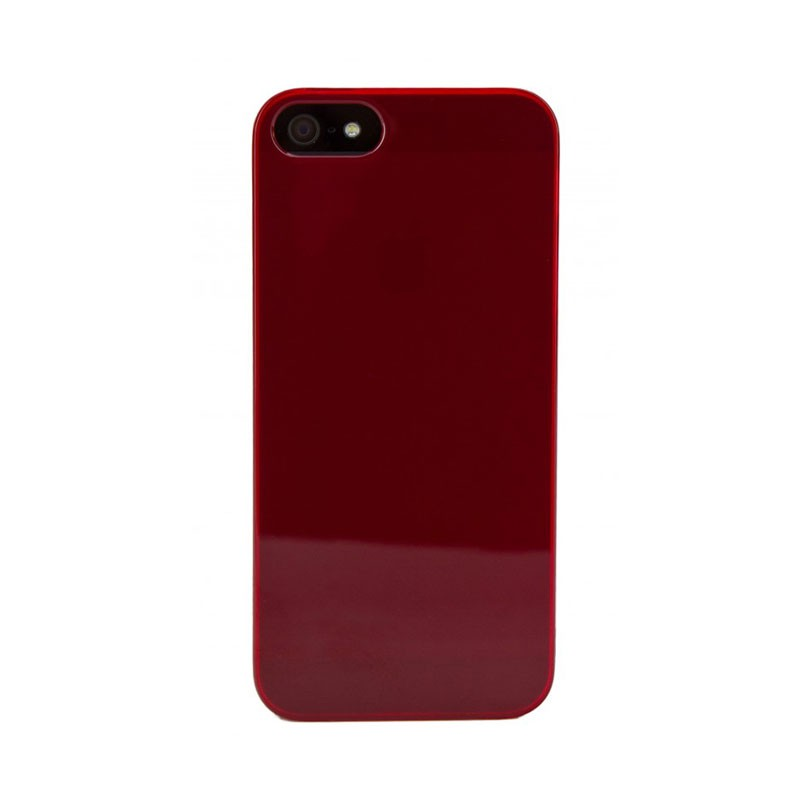 Xqisit - iPlate Ultra Thin iPhone 5 Red 04