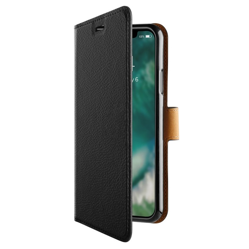 Xqisit Slim Wallet Selection iPhone XS Max zwart 05