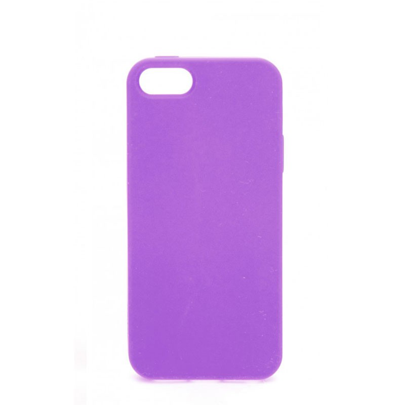 Xqisit Soft Grip Case iPhone 5 (Purple) 02