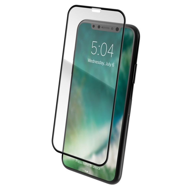 Xqisit Screen Glass Edge-to-Edge Protector iPhone XS Max Clear 03