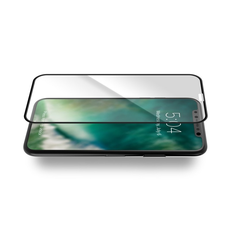 Xqisit Screen Glass Edge-to-Edge Protector iPhone XS Max Clear 02