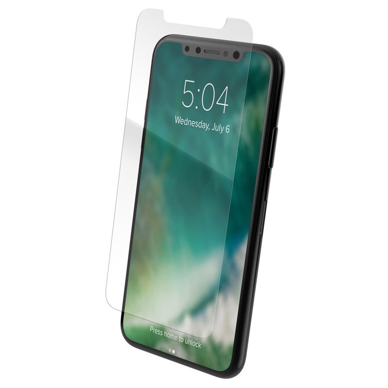 Xqisit Tough Screen Glass iPhone XR Protector Transparanti 02