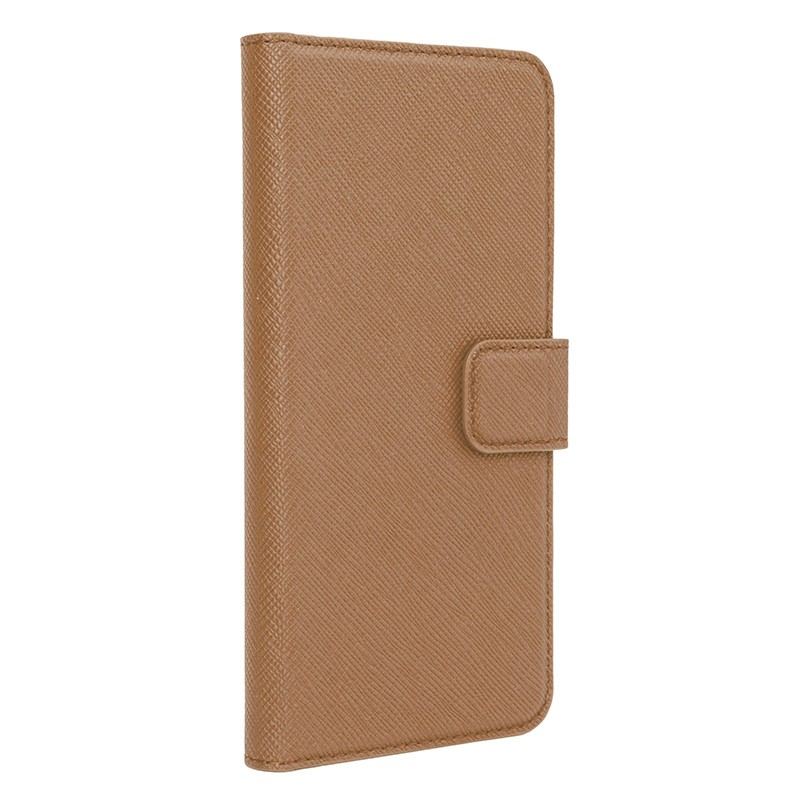 Xqisit - Wallet Case Viskan iPhone 6 Plus / 6S Plus Brown 01