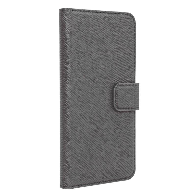 Xqisit - Wallet Case Viskan iPhone 6 Plus / 6S Plus Grey 01