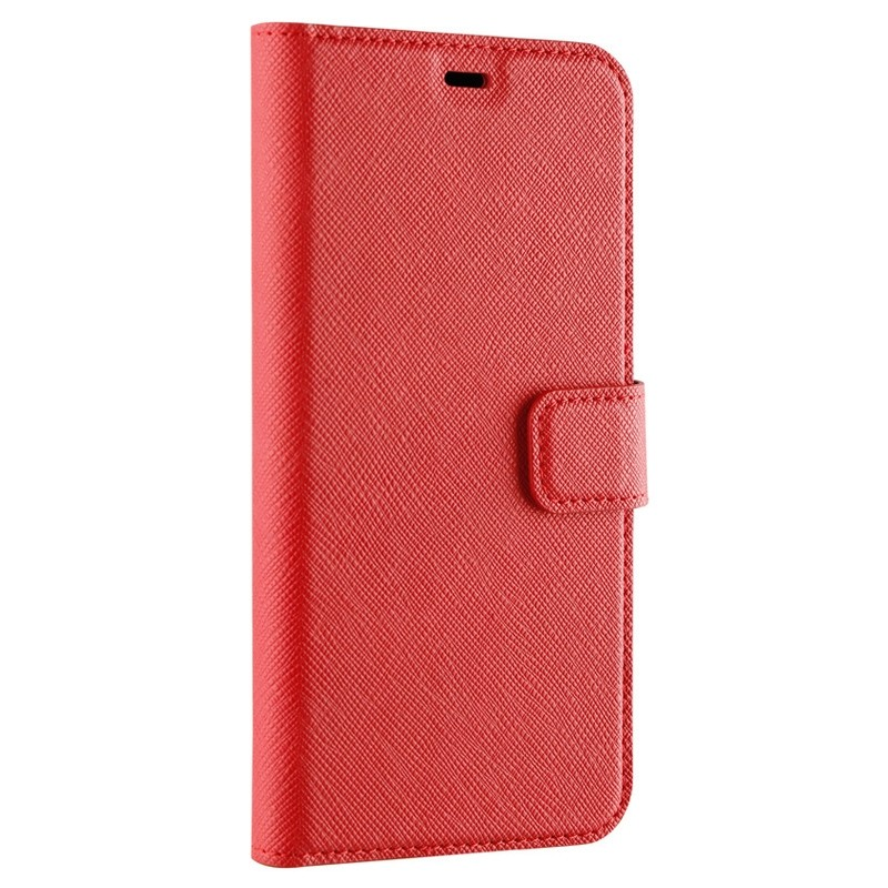 Xqisit Wallet Case Viskan iPhone XR Rood 05