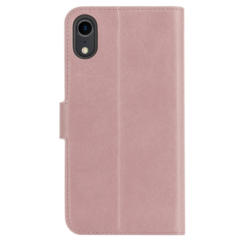 Xqisit Wallet Case Viskan iPhone XR Rose 02