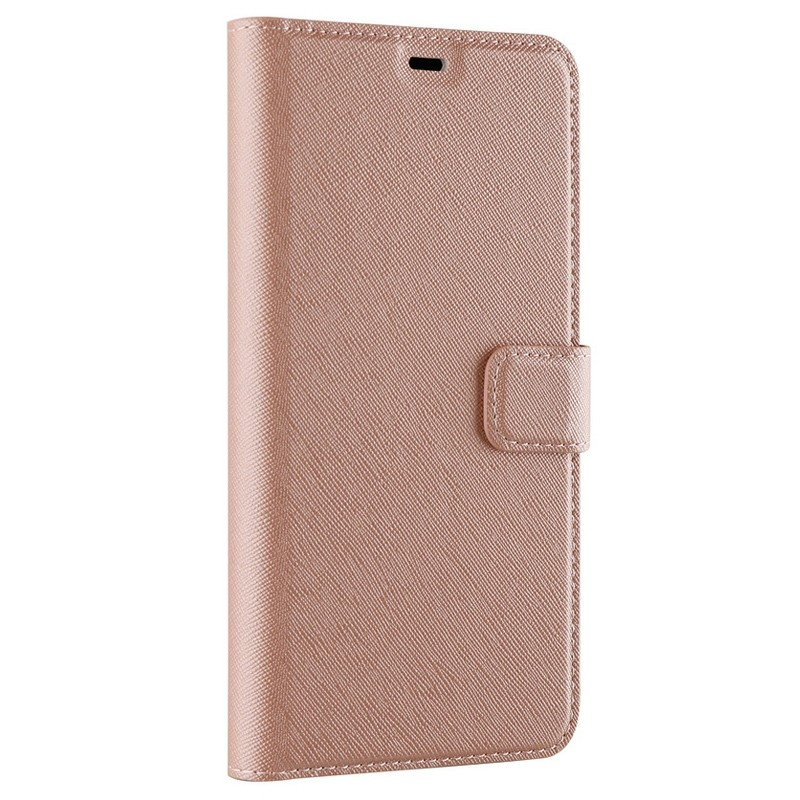 Xqisit Wallet Case Viskan iPhone XR Rose 05