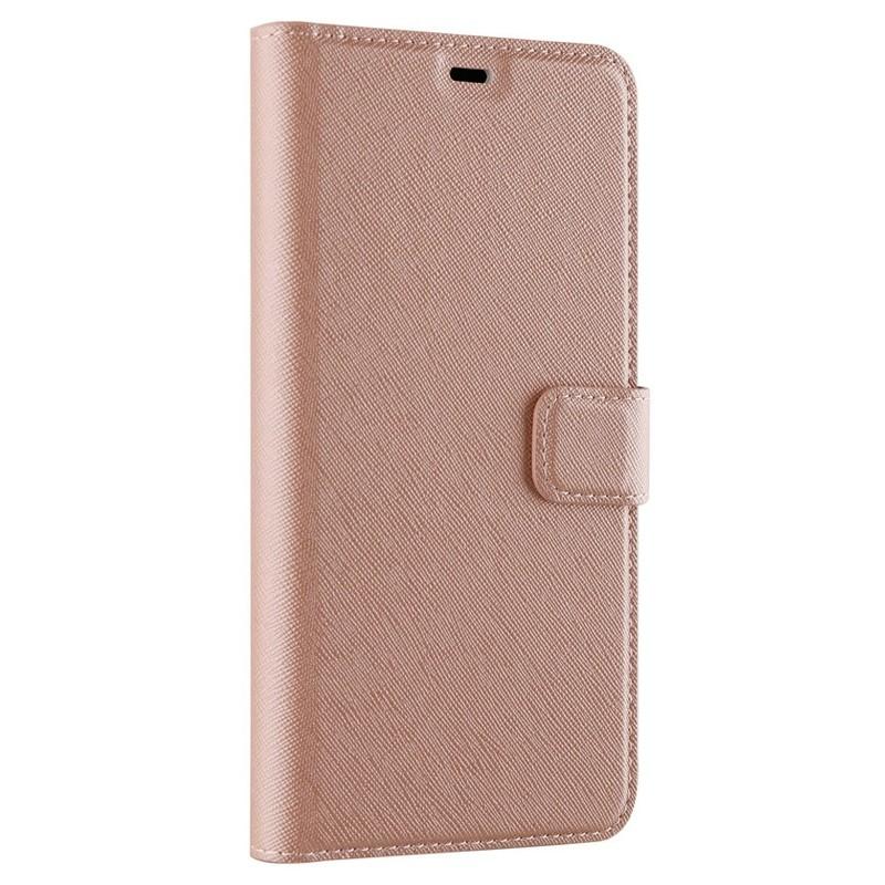 Xqisit Wallet Case Viskan iPhone XS Max Hoesje Roze 05