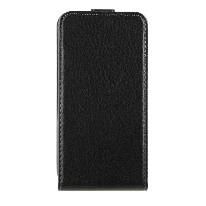Xqisit FlipCover iPhone 4/4S Black - 1