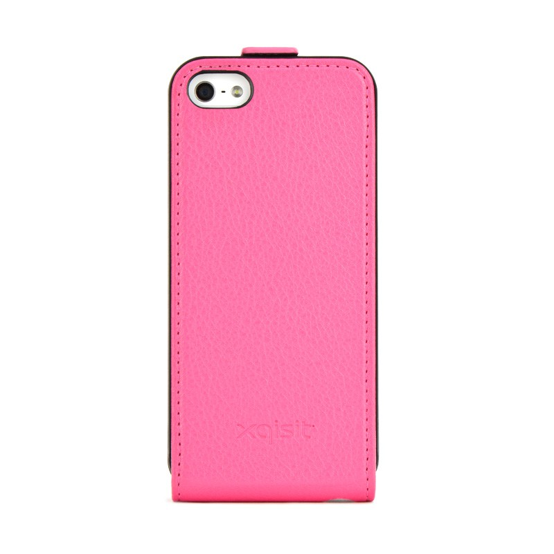 Xqisit Flipcover iPhone 5 Pink - 1