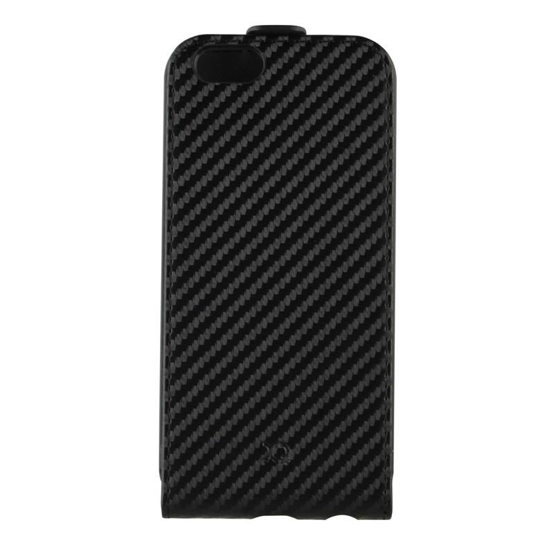 Xqisit FlipCover iPhone 6 Carbon Black - 2