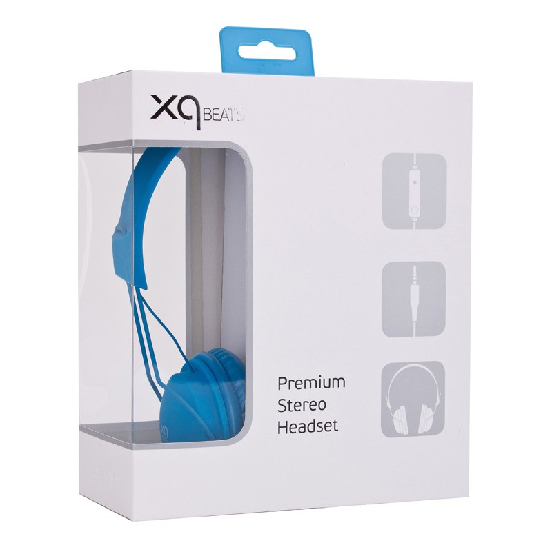 Xqisit HS Over-Ear Headset Blue - 3