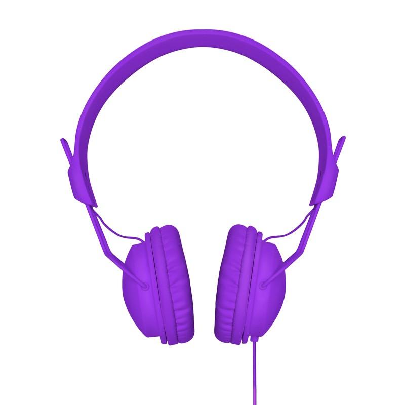 Xqisit HS Over-Ear Headset Purple - 1