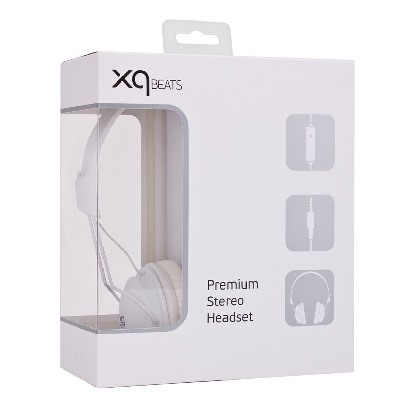 Xqisit HS Over-Ear Headset White - 3