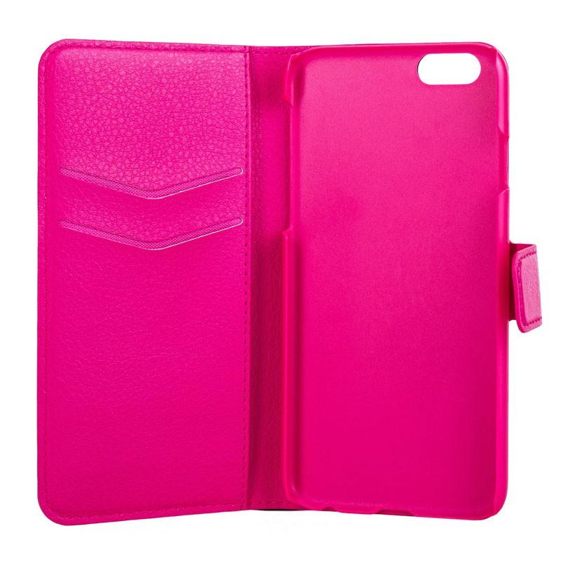 Xqisit Slim Wallet Case iPhone 6 Plus Pink - 3