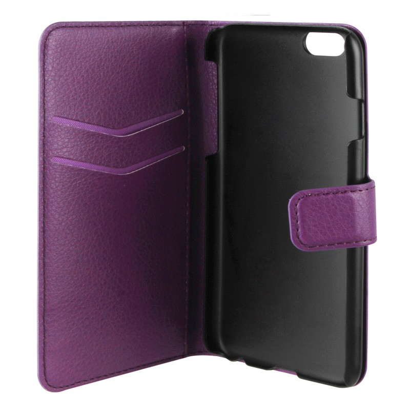 Xqisit Slim Wallet Case iPhone 6 Purple - 3