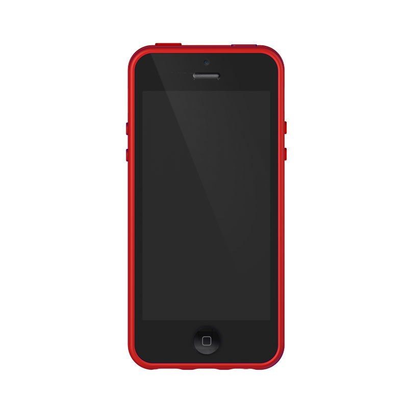 XtremeMac - Microshield Accent iPhone 5 (Red-Orange) 04