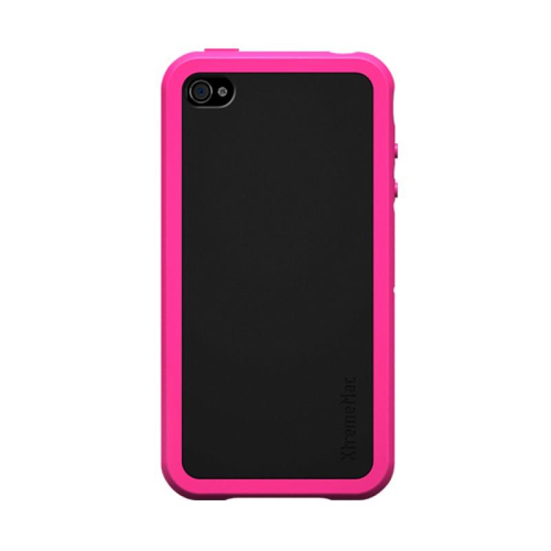 XtremeMac TuffWrap Accent iPhone 4 Pink - 1