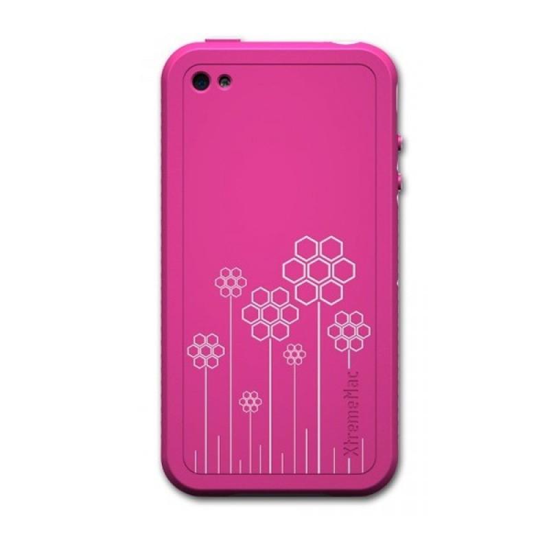 XtremeMac TuffWrap Tatu iPhone 4 Pink - 1