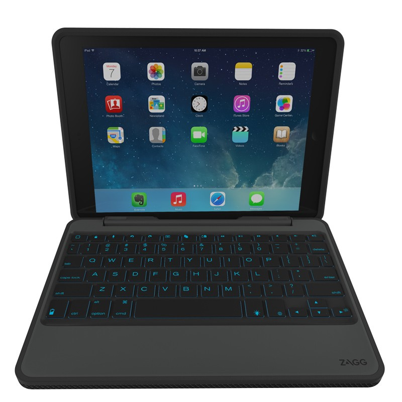 ZAGG - Rugged Book iPad Air 2 Black 05