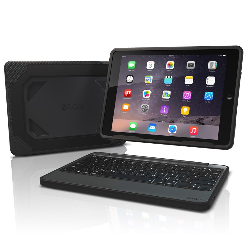ZAGG - Rugged Book iPad Air 2 Black 06