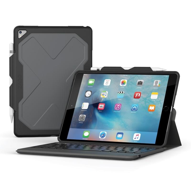 ZAGG Rugged Keyboard Case iPad Pro 10.5 Zwart - 1