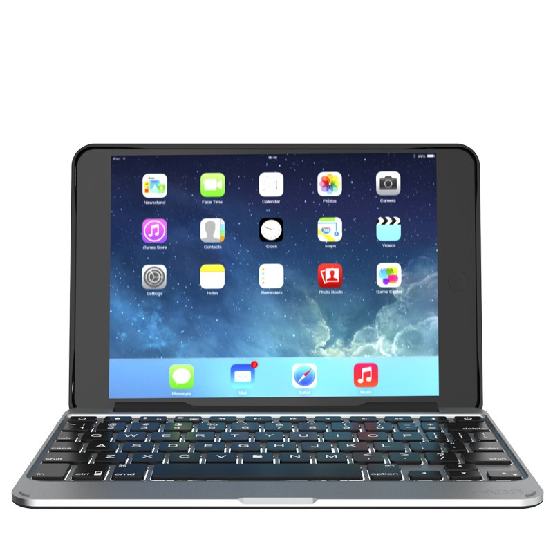 ZAGG - Slim Book Case Keyboard iPad mini 4 06