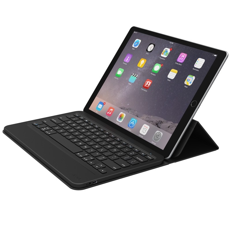 zagg ipad pro 12 9 inch keyboard en stand iphone. Black Bedroom Furniture Sets. Home Design Ideas