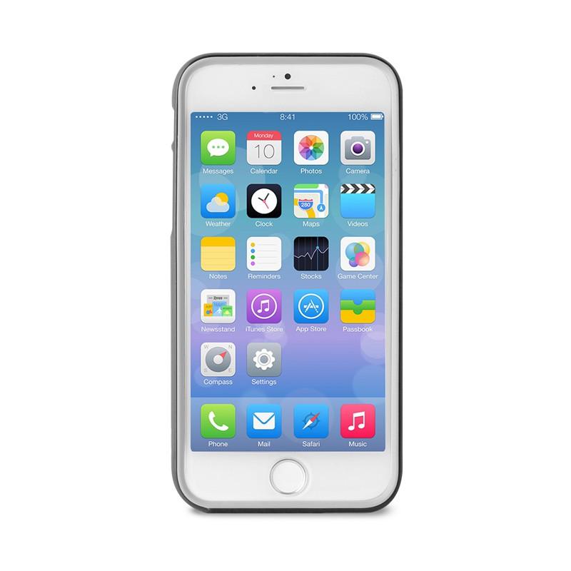 Puro Bumper Case iPhone 6 Plus Black - 1