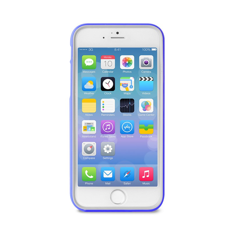 Puro Bumper Case iPhone 6 Blue - 1