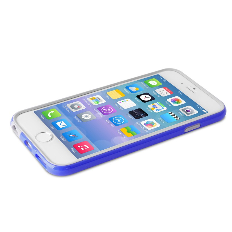 Puro Bumper Case iPhone 6 Blue - 3