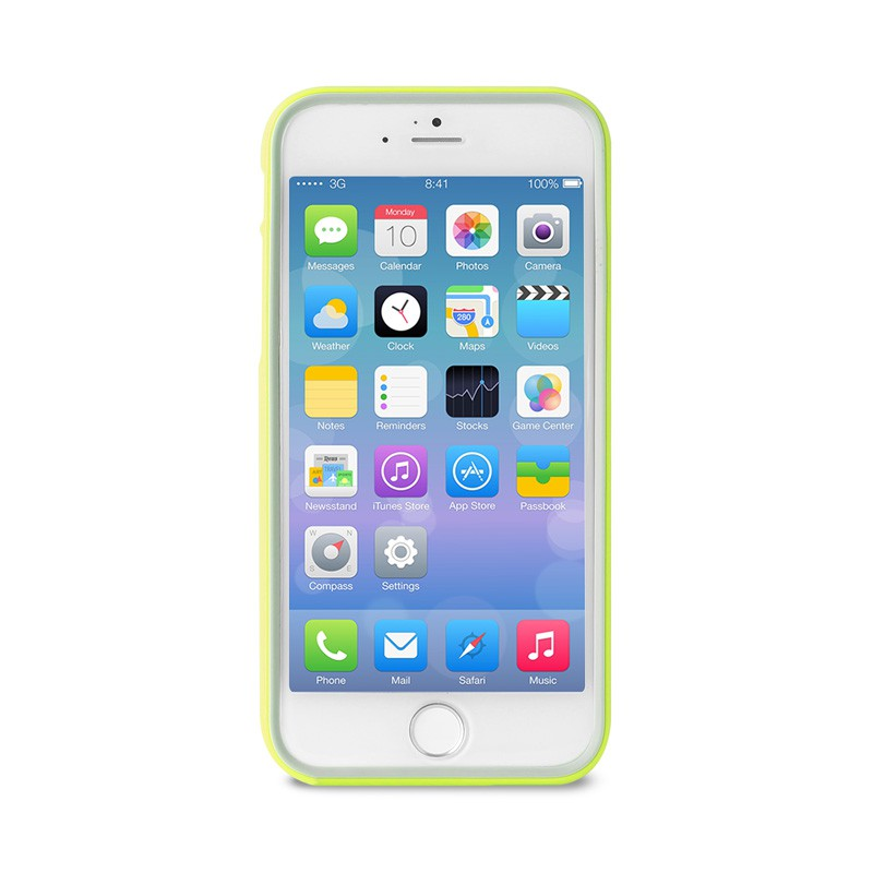 Puro Bumper Case iPhone 6 Green - 1