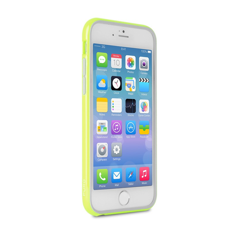 Puro Bumper Case iPhone 6 Green - 4