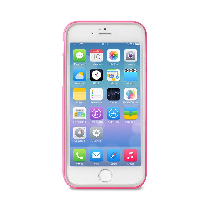 Puro Bumper Case iPhone 6 Plus Pink - 1