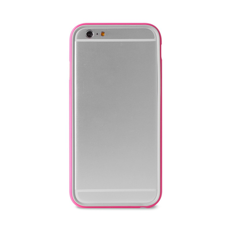 Puro Bumper Case iPhone 6 Plus Pink - 2