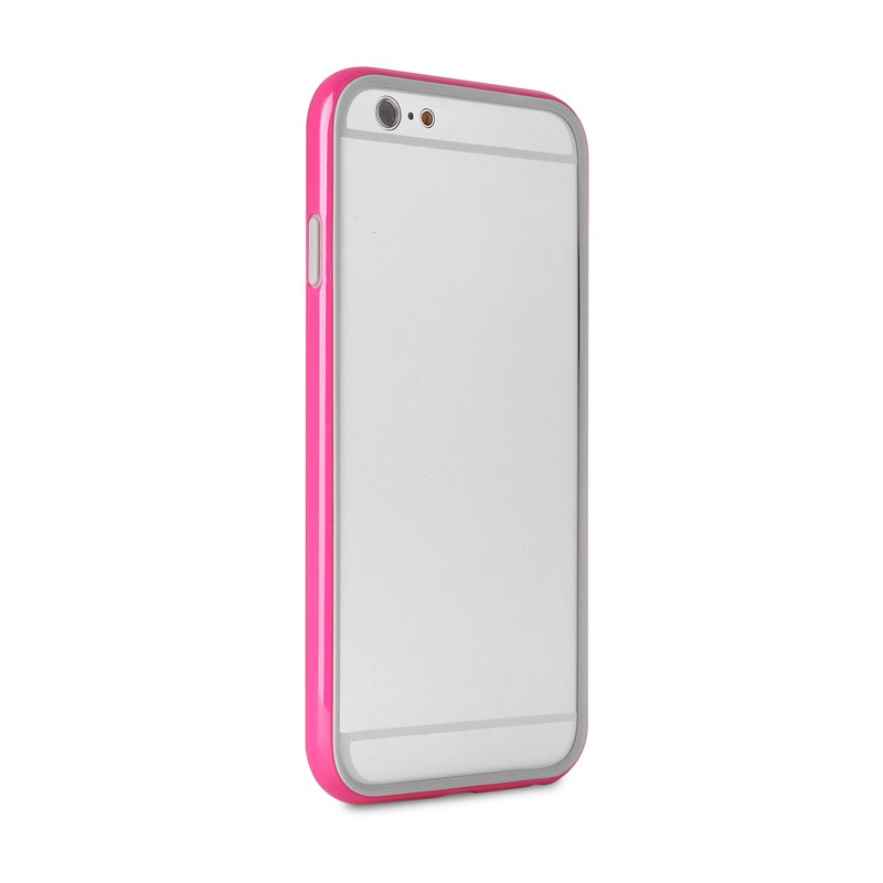 Puro Bumper Case iPhone 6 Pink - 5