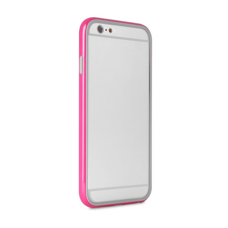 Puro Bumper Case iPhone 6 Pink - 5