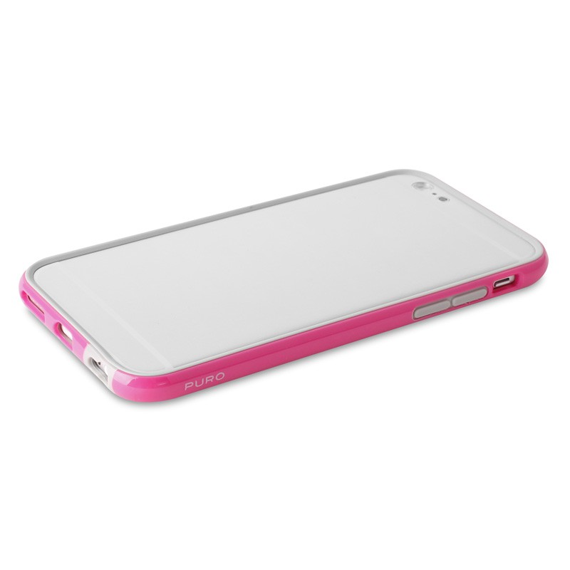 Puro Bumper Case iPhone 6 Plus Pink - 7