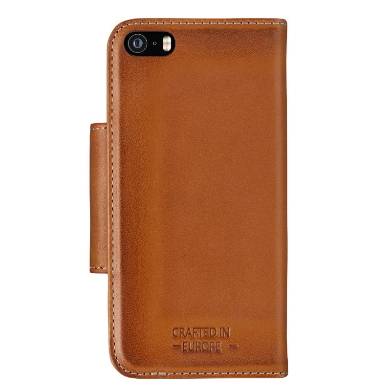 Bugatti - Book Cover Amsterdam iPhone SE/5S/5 cognac 03
