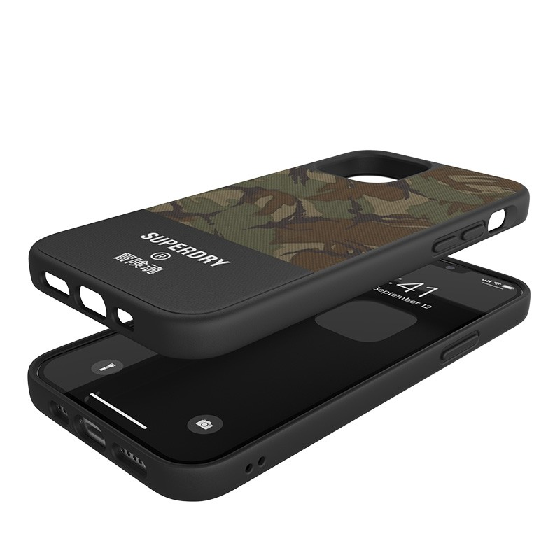 Superdry - Moulded Case Canvas iPhone 12 Pro Max camo 03