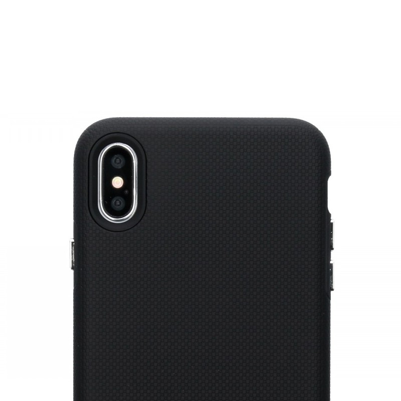 Accezz Extreme Cover iPhone XS Max Zwart 03