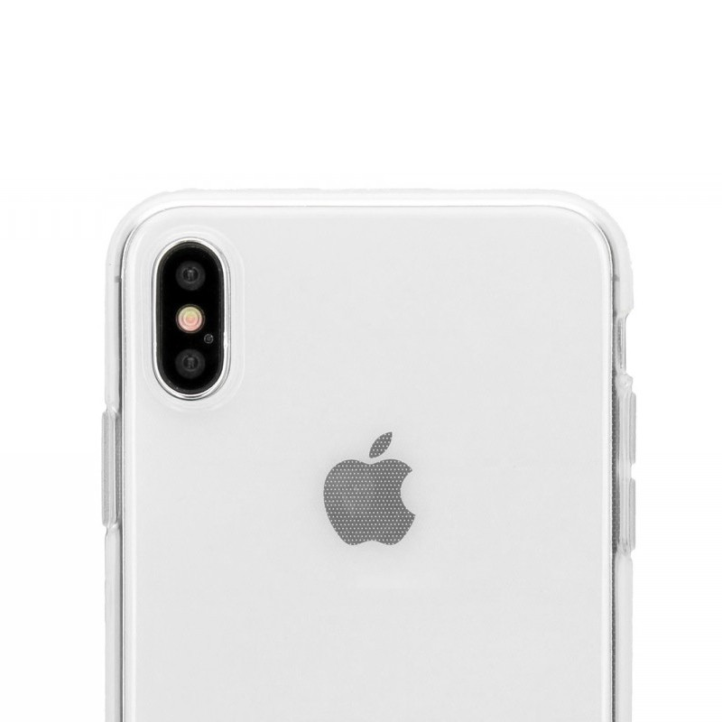 Accezz Transparant TPU Hoesje iPhone XS Max Clear 03