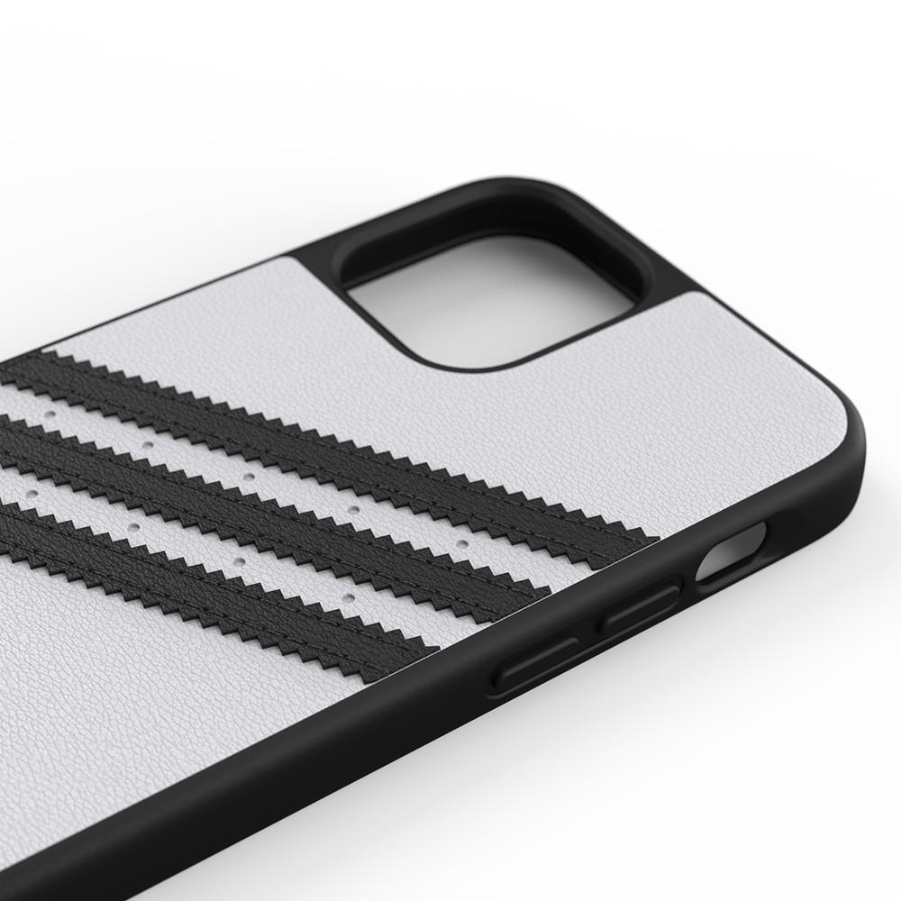 Adidas Moulded Case iPhone 12 / 12 Pro 6.1 Wit/zwart - 3