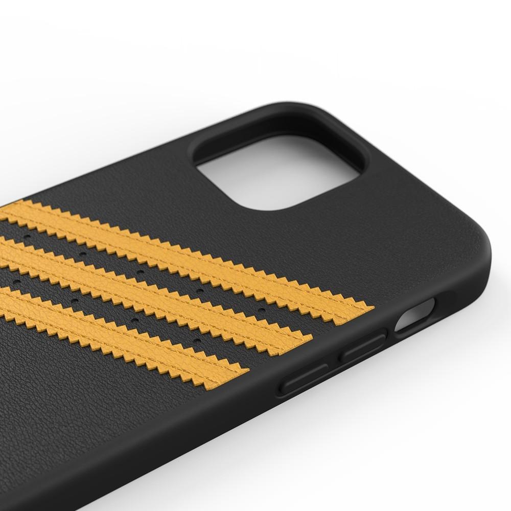 Adidas Moulded Case iPhone 12 / 12 Pro 6.1 Zwart/Geel - 3