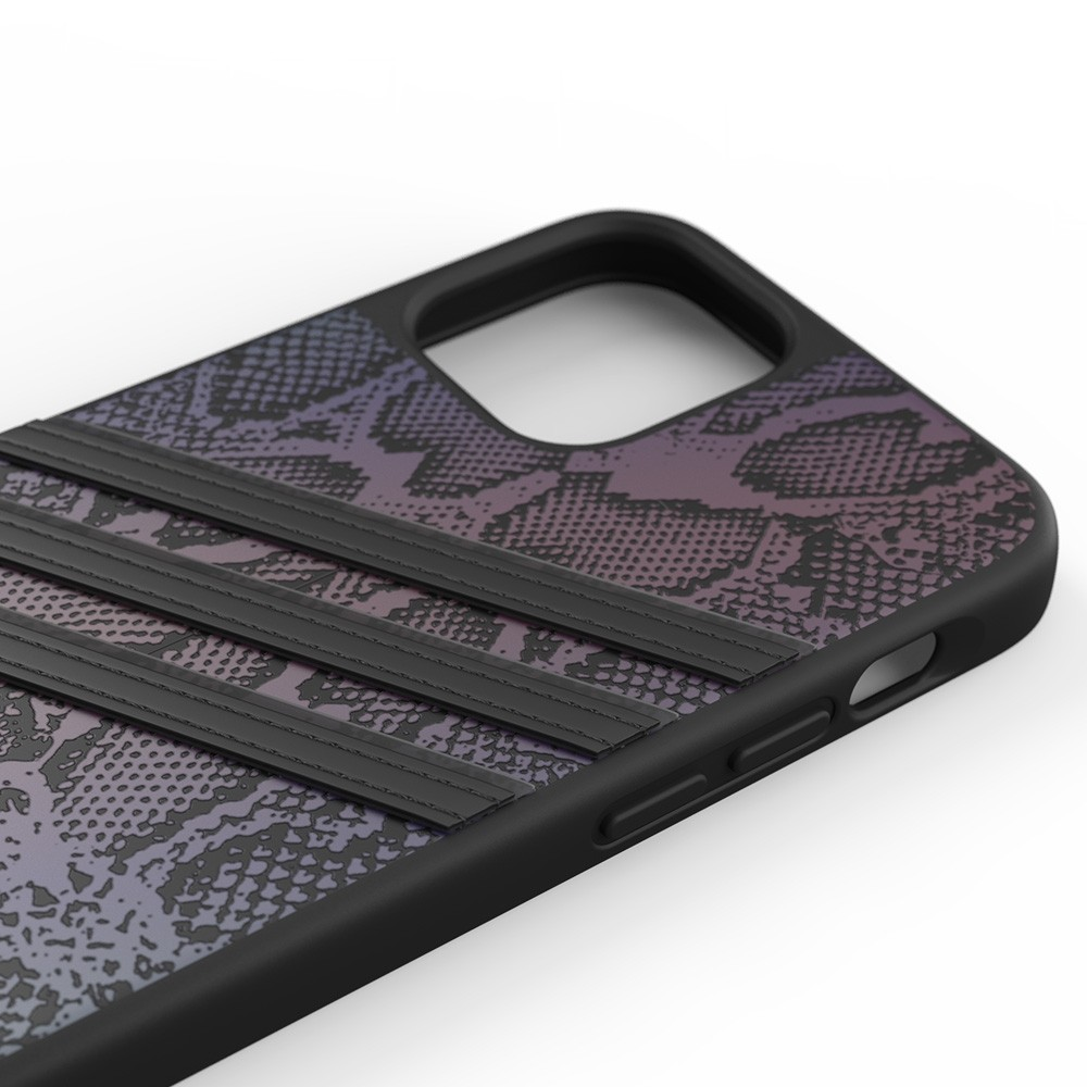 Adidas Moulded Case iPhone 12 / 12 Pro 6.1 Zwart Iridescent - 3