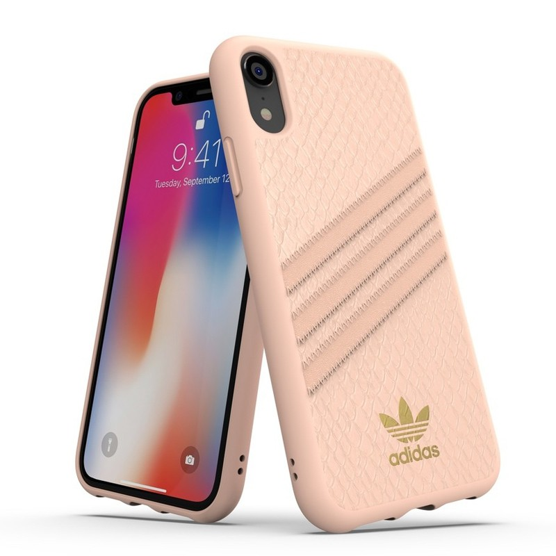 Adidas Moulded Case Snake iPhone Xr roze 03
