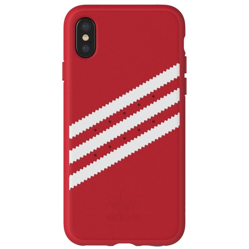 Adidas Originals Moulded iPhone X Case scarlet red 02