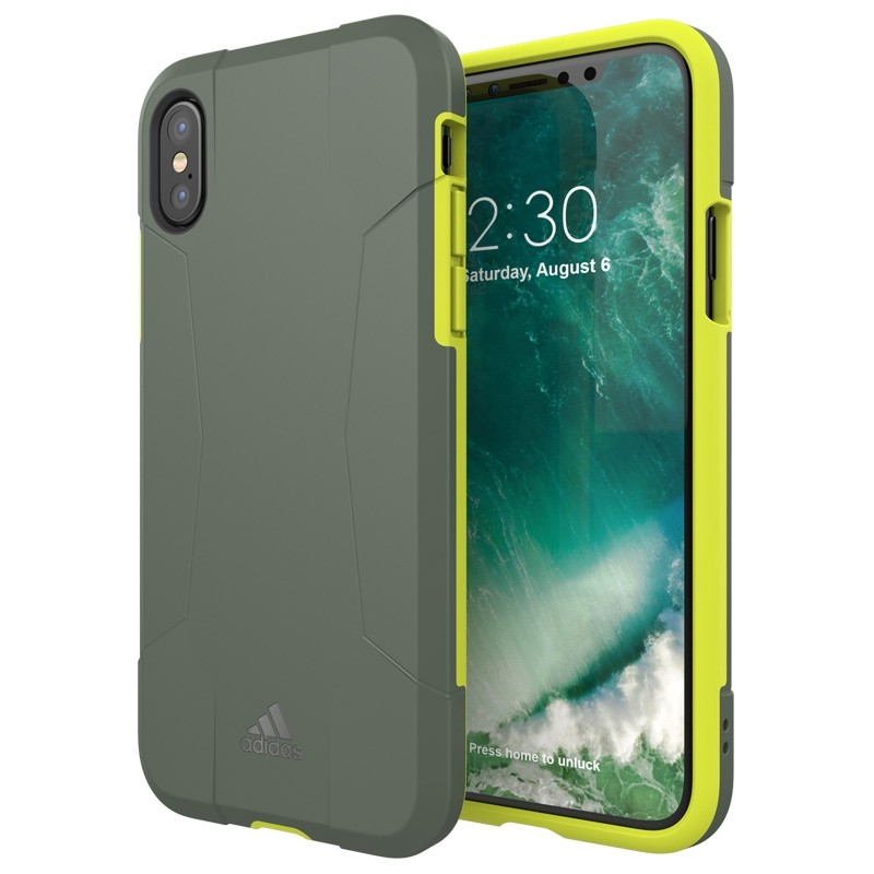 Adidas SP Solo Case iPhone X/Xs Solar Yellow 03